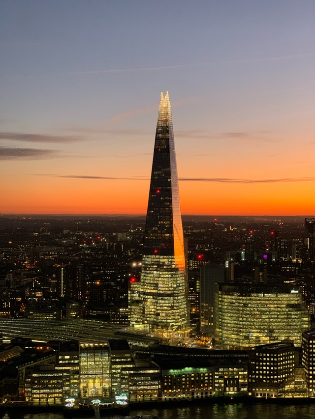 The SHARD - colores